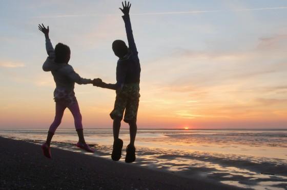 Jump at Eemshaven