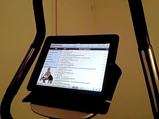 iPad on Fitura